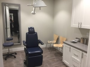 Exam Room at Granite Bay Plastic Surgery Office