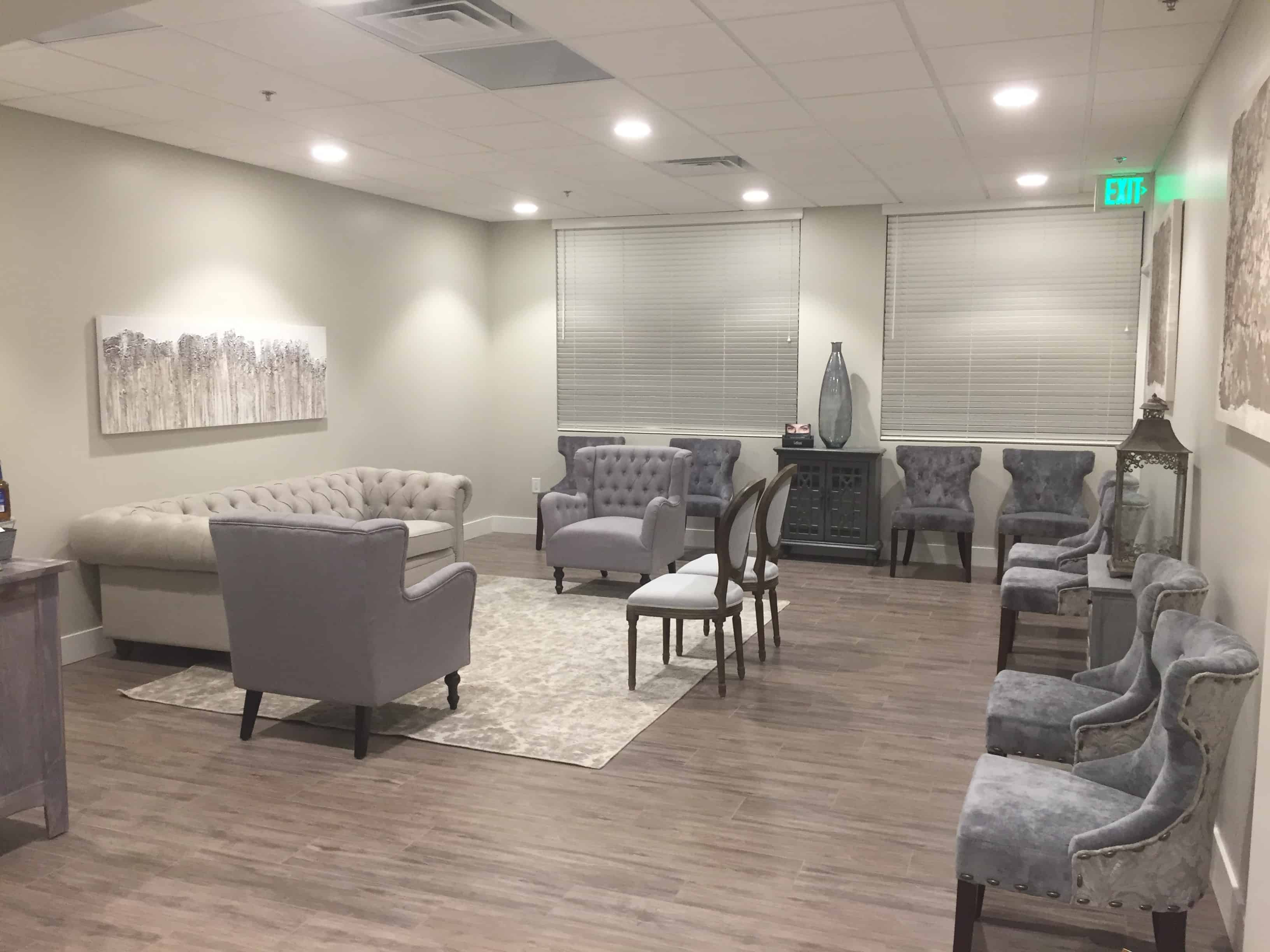 Plastic Surgery Waiting Room Granite Bay