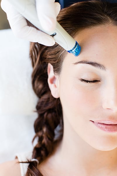 Hydrafacials can rejuvenate skin.